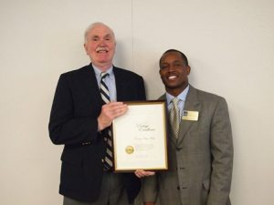 Frank Yahner of PenBay Media accepted the award at a ceremony in Washington, DC