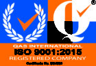 QAS International ISO 9001:2015 Registered Company